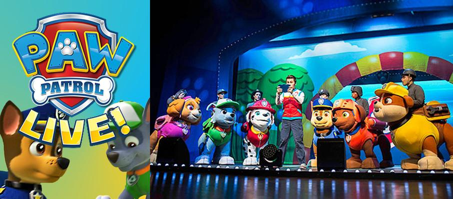 Paw Patrol at Robinson Center Performance Hall
