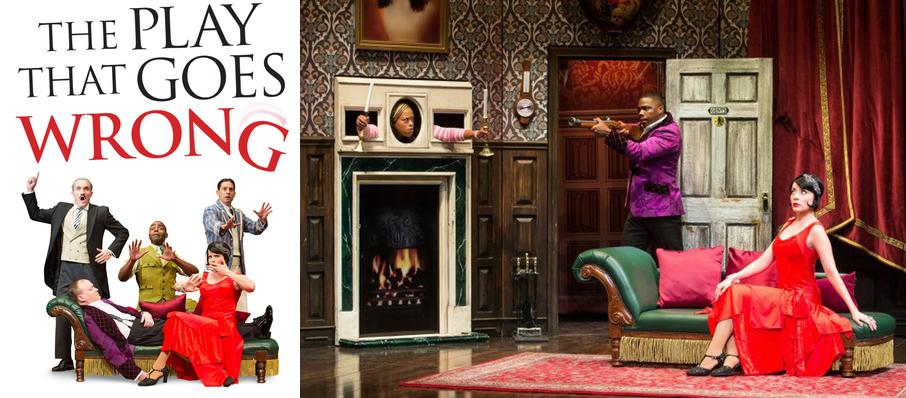 The Play That Goes Wrong at Robinson Center Performance Hall