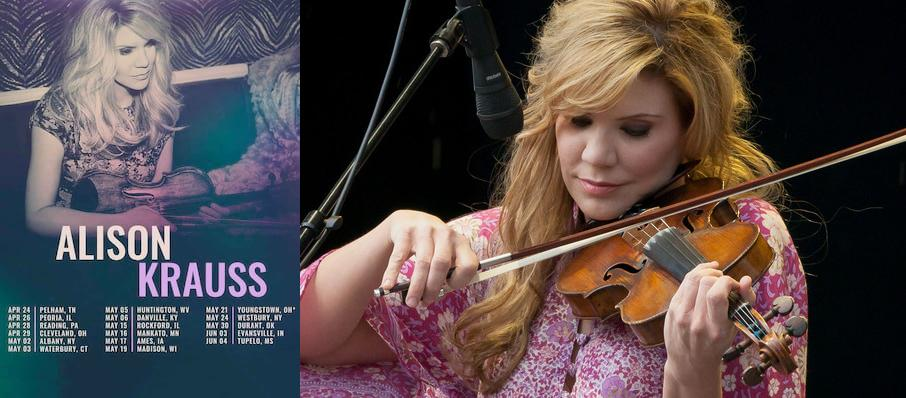 Alison Krauss at Robinson Center Performance Hall