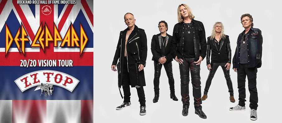 Def Leppard and ZZ Top at Simmons Bank Arena