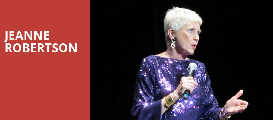 Jeanne Robertson, Robinson Center Performance Hall, Little Rock
