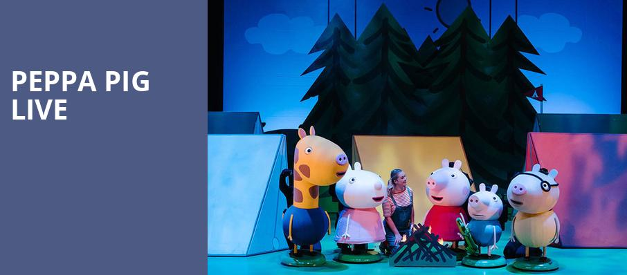 Peppa Pig Live, Robinson Center Performance Hall, Little Rock