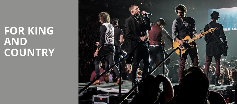 For King And Country, Verizon Arena, Little Rock