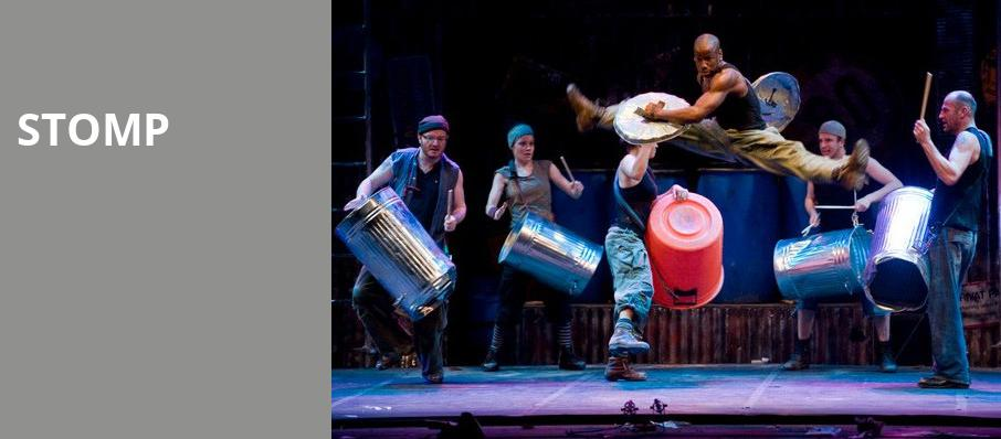 Stomp, Robinson Center Performance Hall, Little Rock